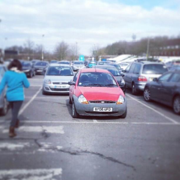 BP06 UPD Small scrap car. Big crap ego. A true #selfishparker
