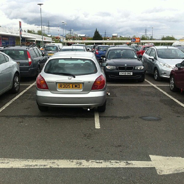 A #selfishparker like RD05 EMD can often be found at this tesco store.