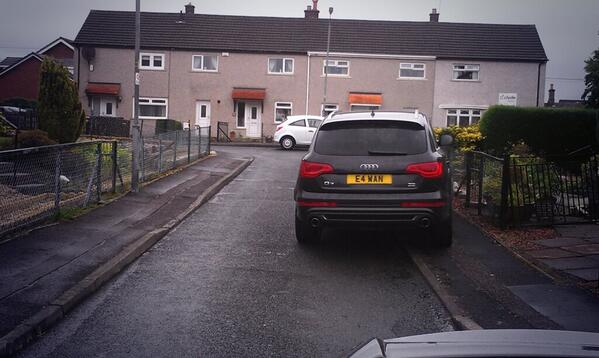 E4 WAN displaying Inconsiderate Parking