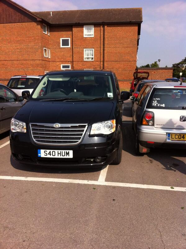 S40 HUM displaying crap parking