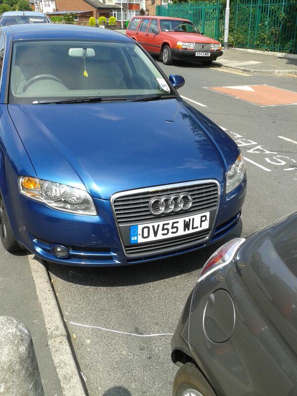 OV55 WLP is a crap parker