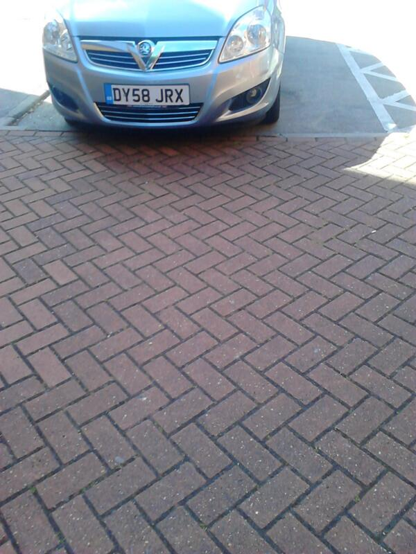 DY58 JRX is an Inconsiderate Parker