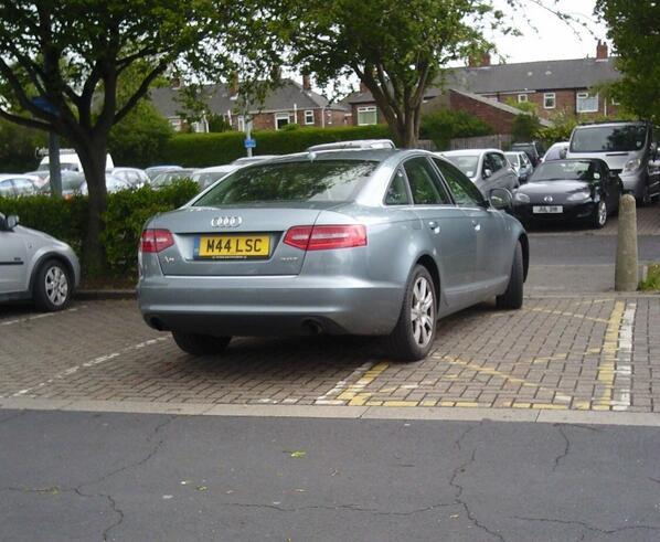 M44 LSC is a crap parker