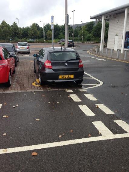 R15 ULL displaying Selfish Parking