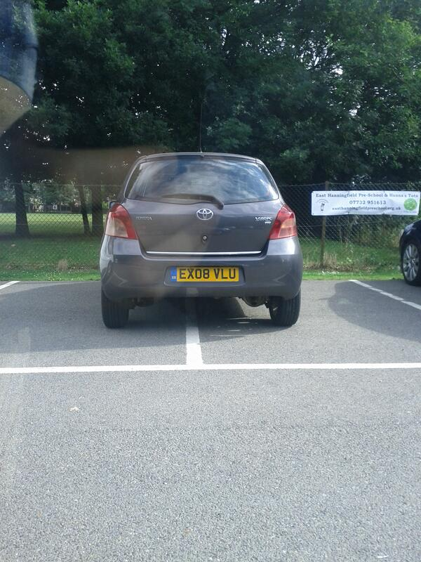 EX08 VLU is a crap parker