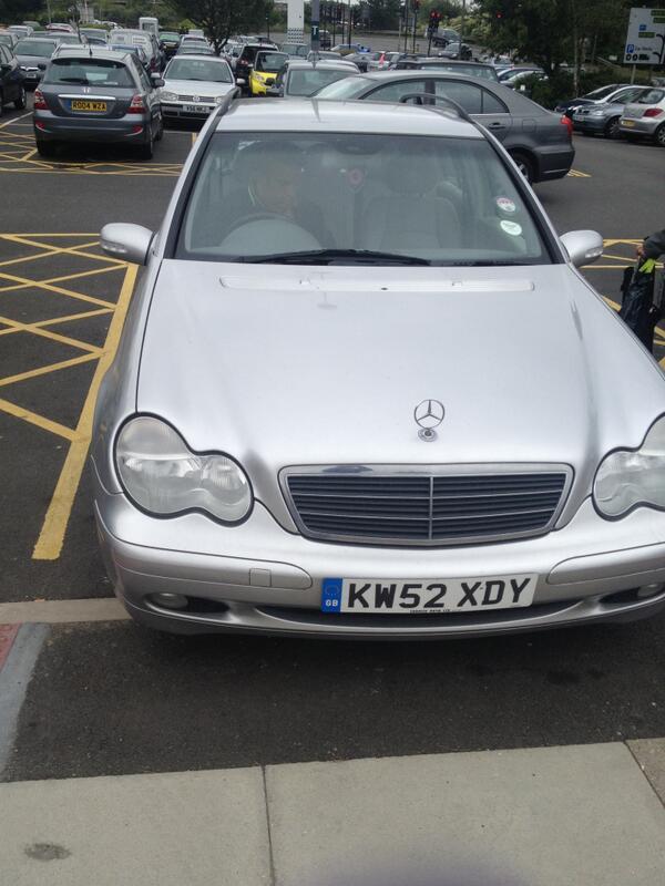 KW52 FDY displaying crap parking