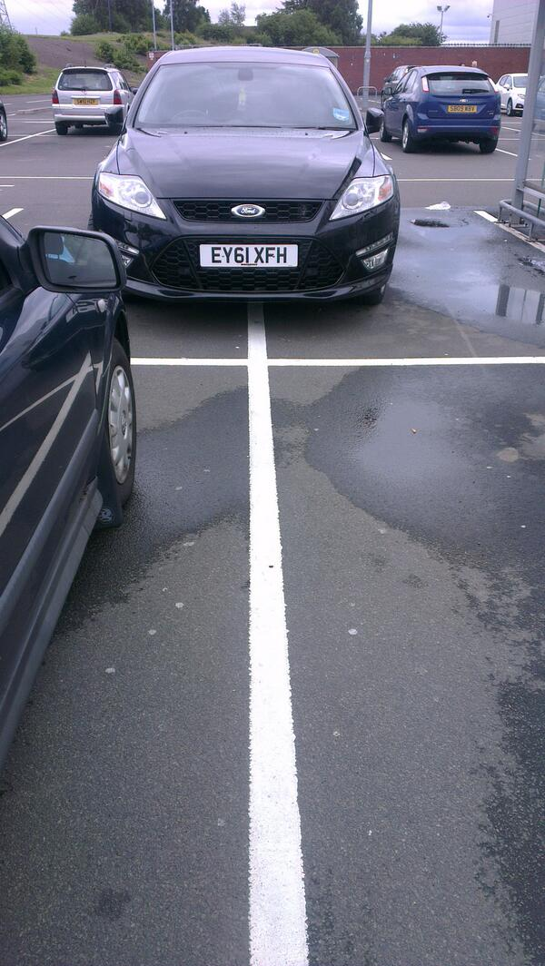 EY61 XFH is an Inconsiderate Parker