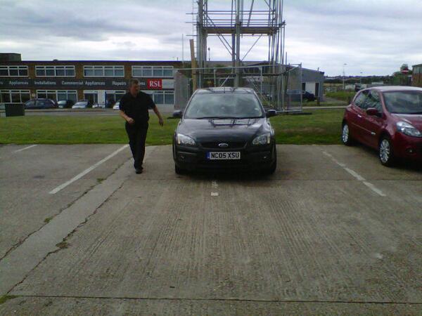 NC05 XSU displaying Selfish Parking