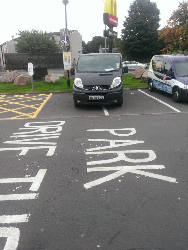 BV60 BGU is an Inconsiderate Parker