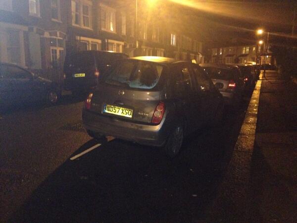 ND57 XS0 displaying crap parking