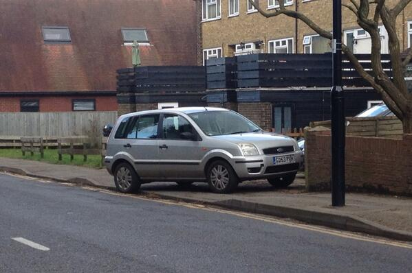 GD53 PXH displaying Selfish Parking