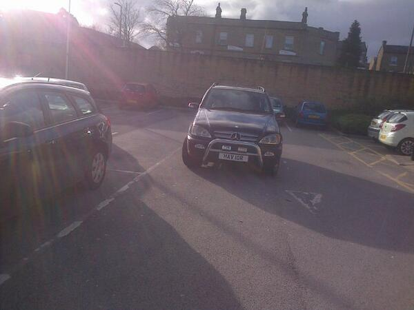 HAV 10R is a crap parker