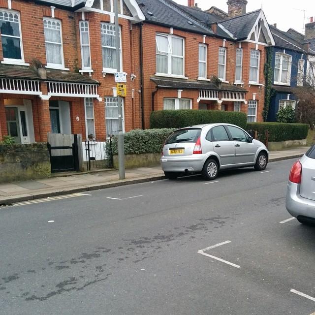 BG55 XES displaying crap parking