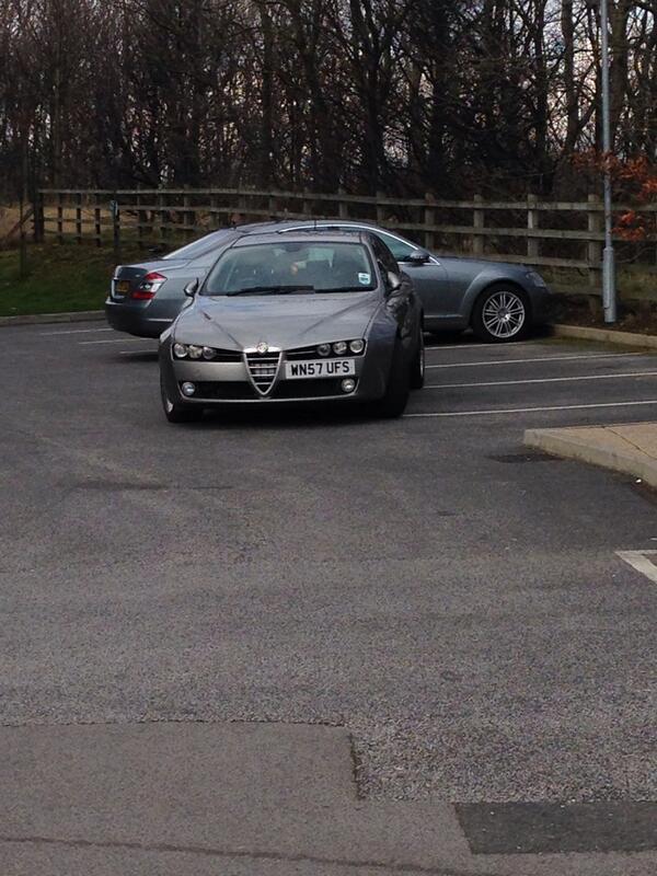 WN57 UFS displaying crap parking