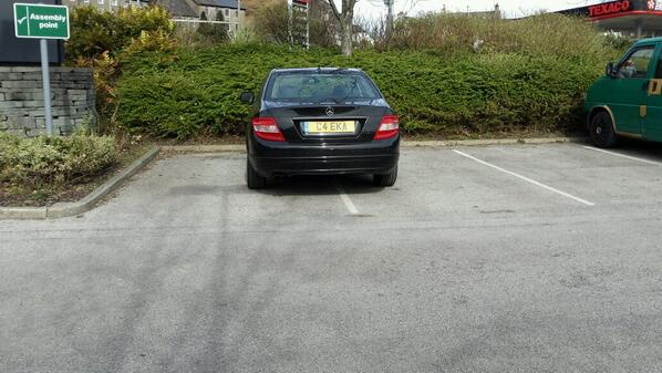 C4 EKA is a crap parker