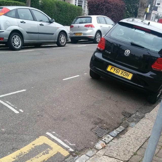 FY61 XOH displaying crap parking