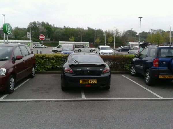 SM08 WGO is a Selfish Parker