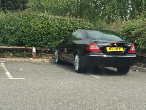 M80 MPC displaying Selfish Parking
