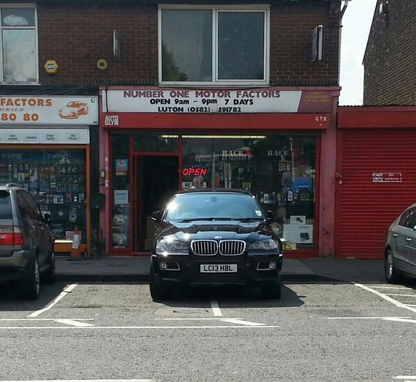LC13 HBL displaying Inconsiderate Parking