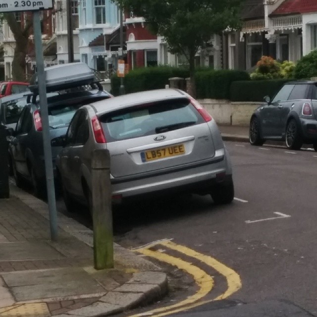 LB57 UFE is an Inconsiderate Parker
