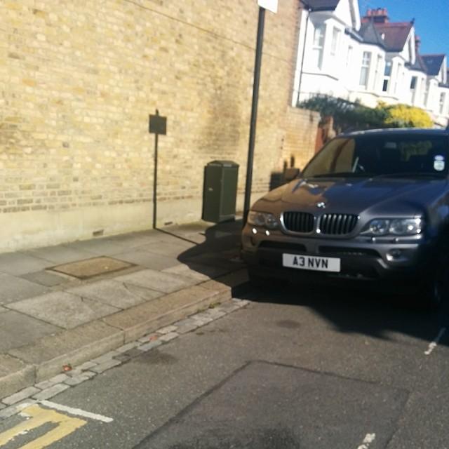 A3 NVN displaying crap parking