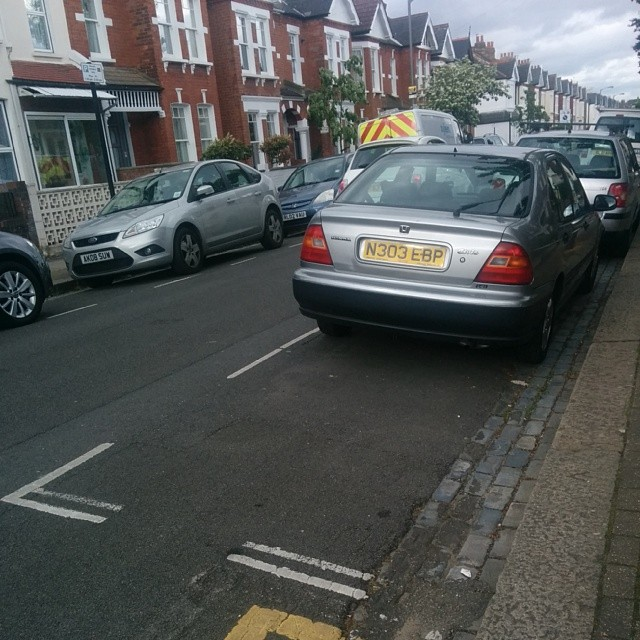 N303 EBP is an Inconsiderate Parker