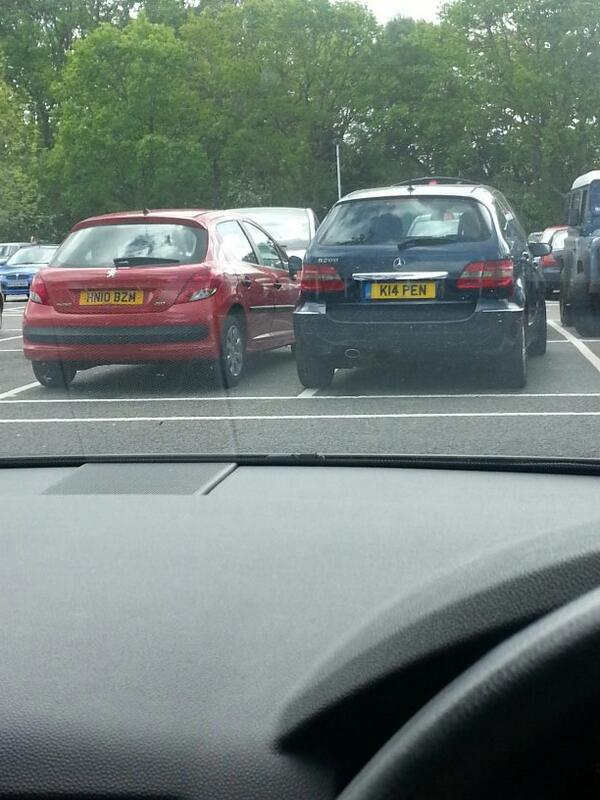 K14 PEN is an Inconsiderate Parker