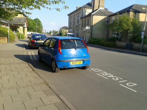 WM51 TJO displaying crap parking