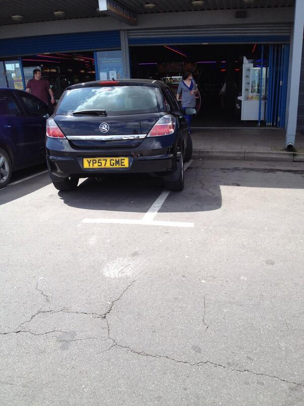 YP57 GME displaying crap parking