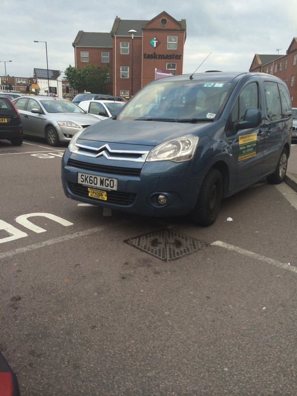 justcantpark-fat-twat-from-micks-mini-cabs-in-doncaster-parking-like-a-cunt-at-the-station-httpt-cojw6neb9qnb-sk60-wgo
