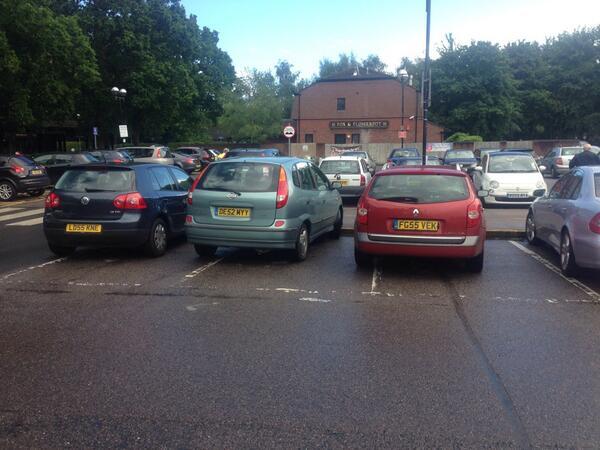 FG55 VEK displaying crap parking
