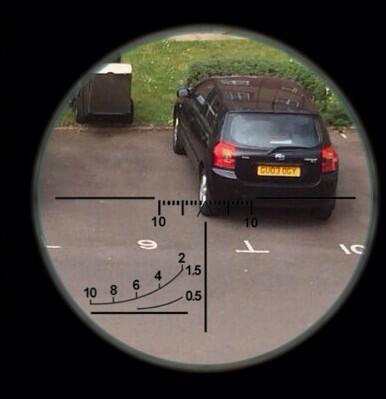 GU03 OGY displaying Inconsiderate Parking