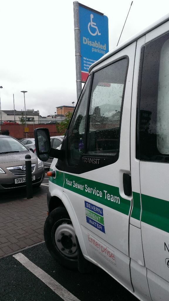 REG NOT ADDED displaying Selfish Parking