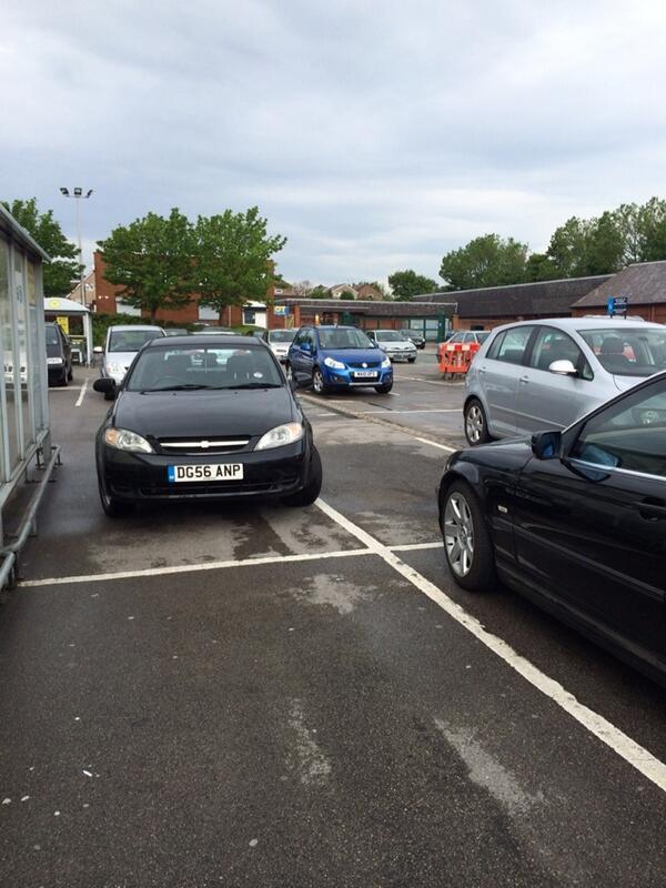 DG56 ANP displaying Selfish Parking