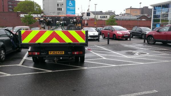 PJ62 KXR displaying crap parking