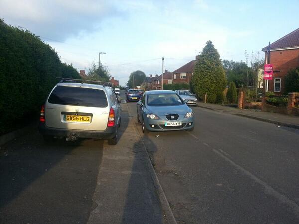 GW55 HLG displaying crap parking