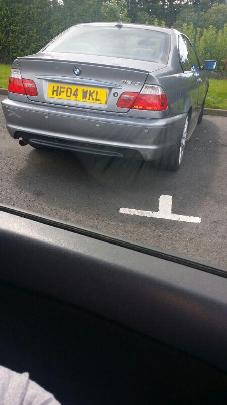 HF04 WKL displaying Selfish Parking