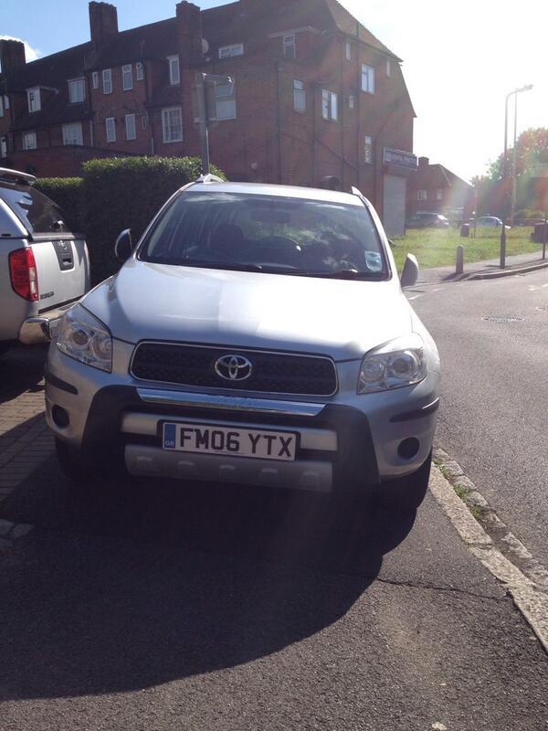 FM06 YTX displaying crap parking