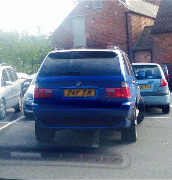J4Y TR displaying Selfish Parking