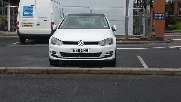 NE11 CHR displaying Inconsiderate Parking