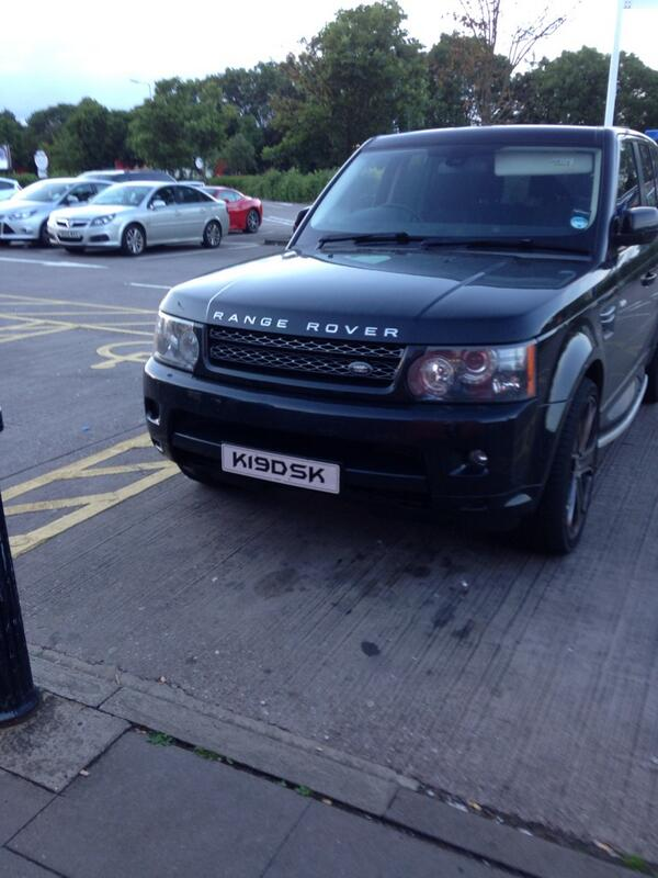 K19 DSK is an Inconsiderate Parker