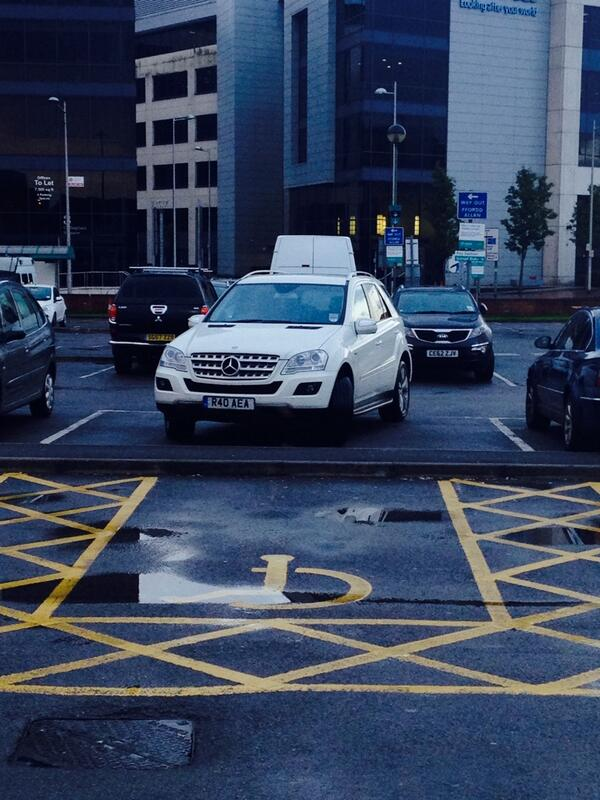 R40 AEA is an Inconsiderate Parker