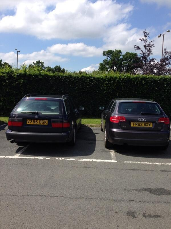 V785 DGK & FR62 BXW displaying crap parking