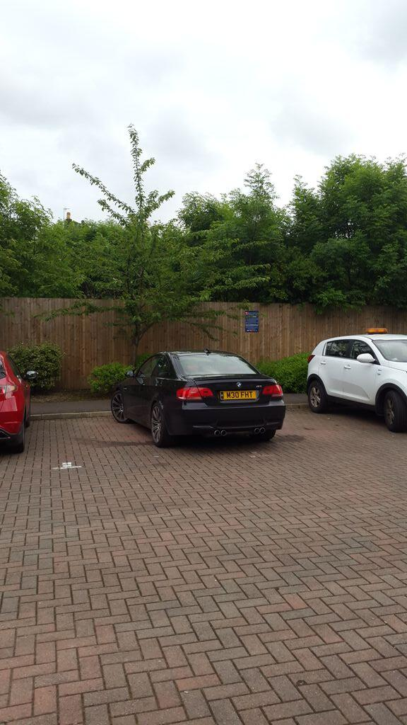 M30 FHT displaying Inconsiderate Parking