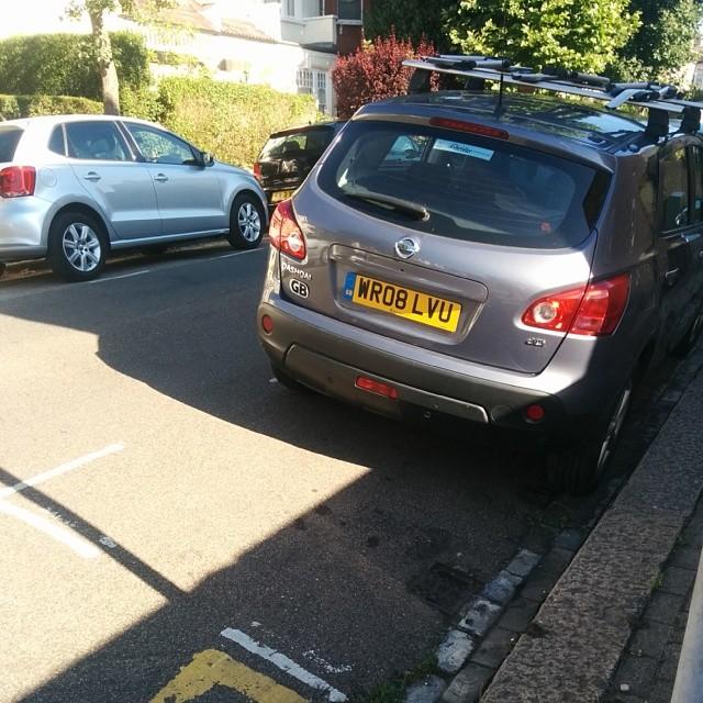 WR08 LVU displaying Selfish Parking