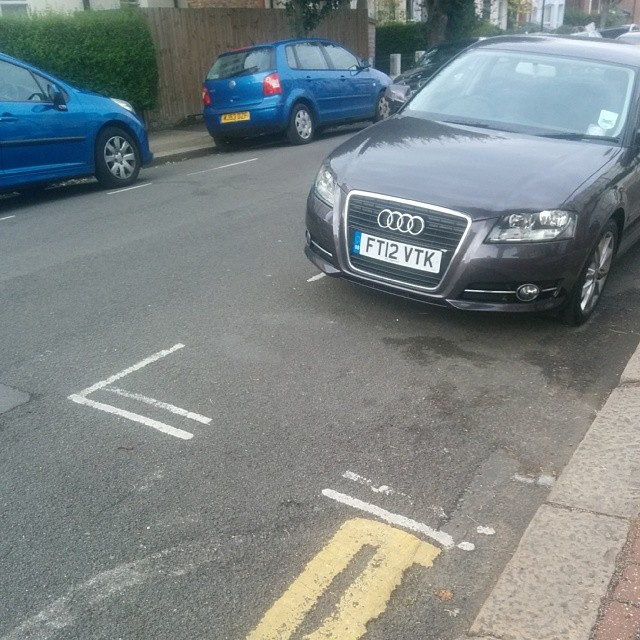 FT12 VTK is an Inconsiderate Parker