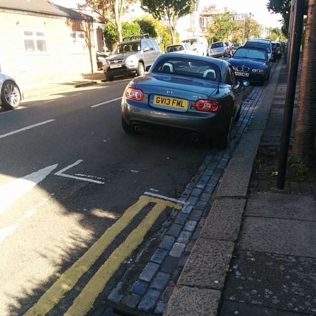 GV13 FML displaying crap parking