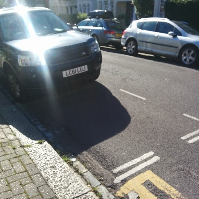 LC61 LUJ is an Inconsiderate Parker