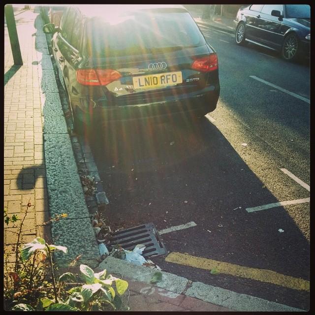 LN10 RFO displaying crap parking