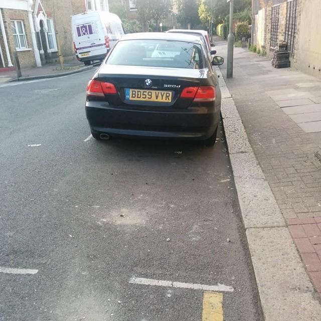 BD59 VYR displaying crap parking